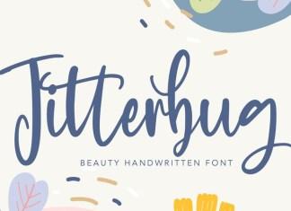 Jitterbug Script Font