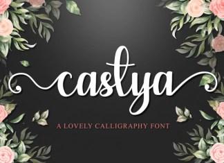 Castya Script Font