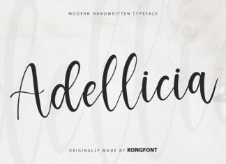 Adellicia Script Font