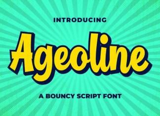 Ageoline Script Font