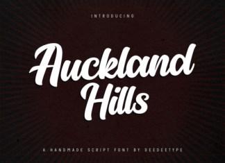 Auckland Hills Script Font