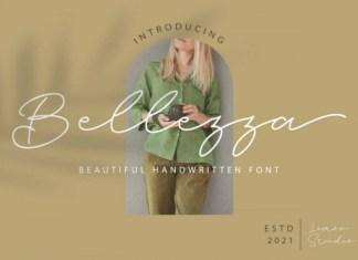 Bellezza Handwritten Font