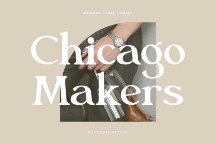Chicago Makers Serif Font