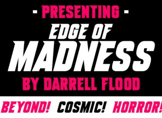 Edge Of Madness Display Font