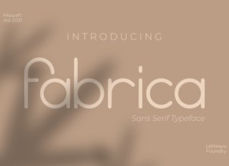 Fabrica Sans Serif Font