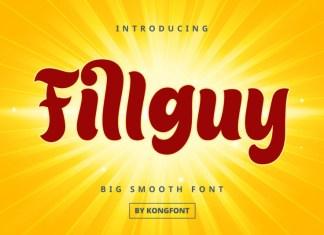 Fillguy Display Font