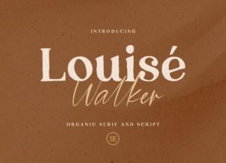 Louise Walker Script Font