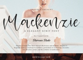 Mackenzie Script Font
