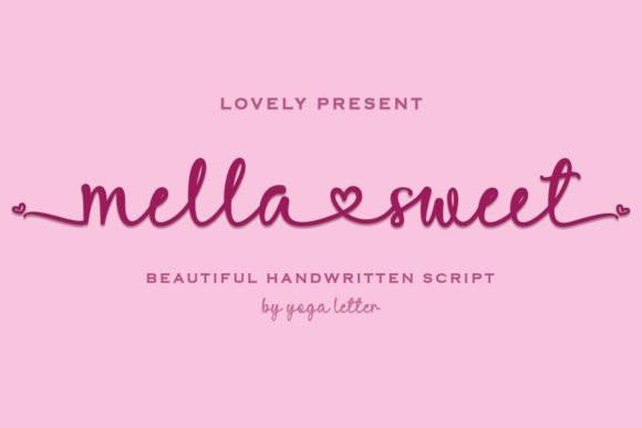 Mella Sweet Script Font