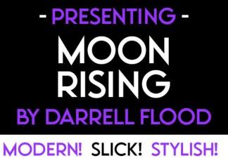 Moonrising Sans Serif Font
