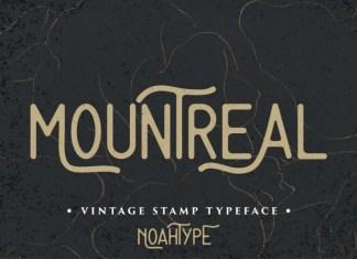 Mountreal Display Font