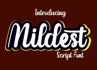 Mildest Script Font