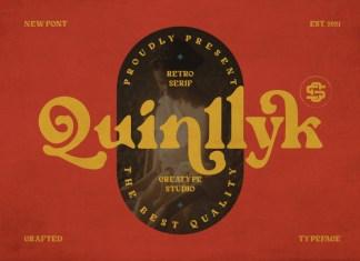 Quinlliyk Serif Font