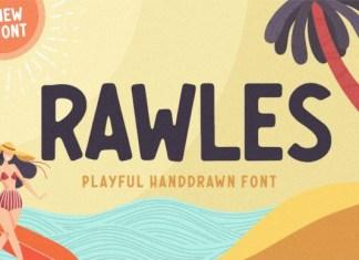 Rawles Display Font