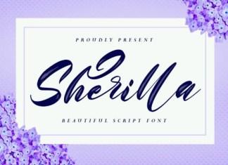 Sherilla Brush Font