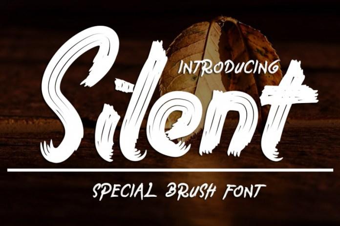 Silent Brush Font