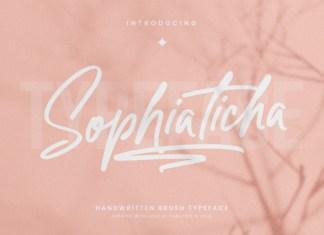 Sophiaticha Script Font