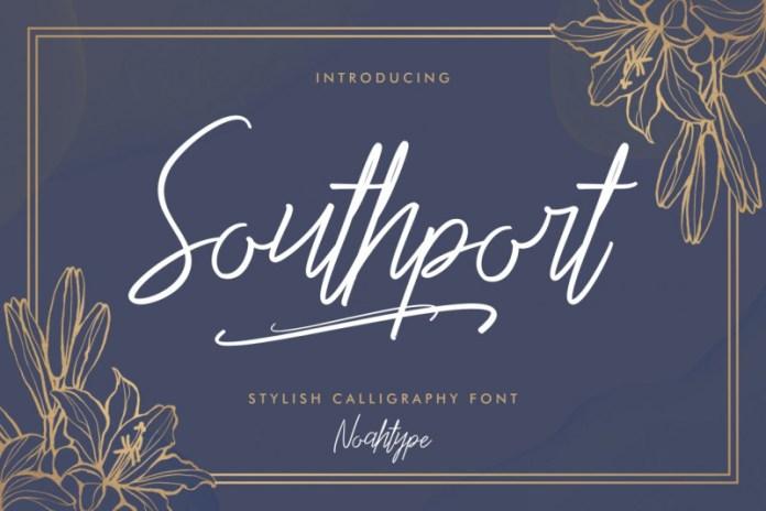 Southport Script Font