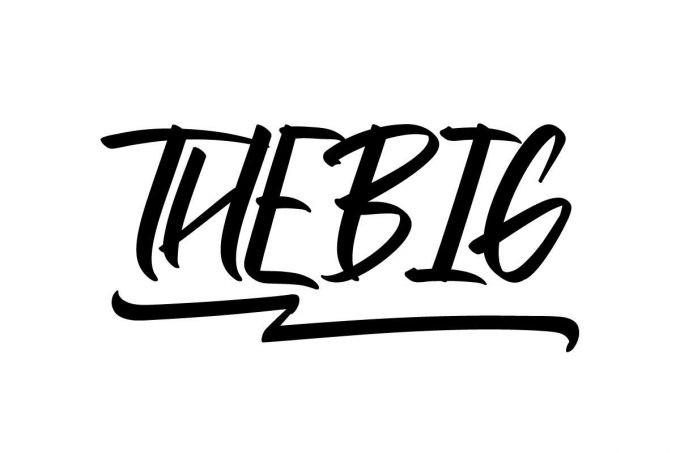 Thebig Script Font