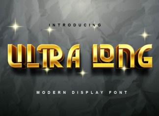 Ultra Long Display Font