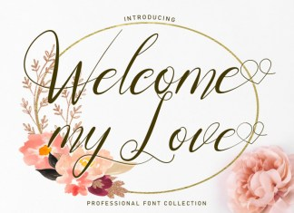 Welcome MyLove Script Font