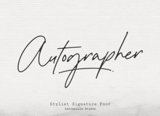 Autographer Handwritten Font