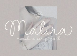 Malira Handwritten Font