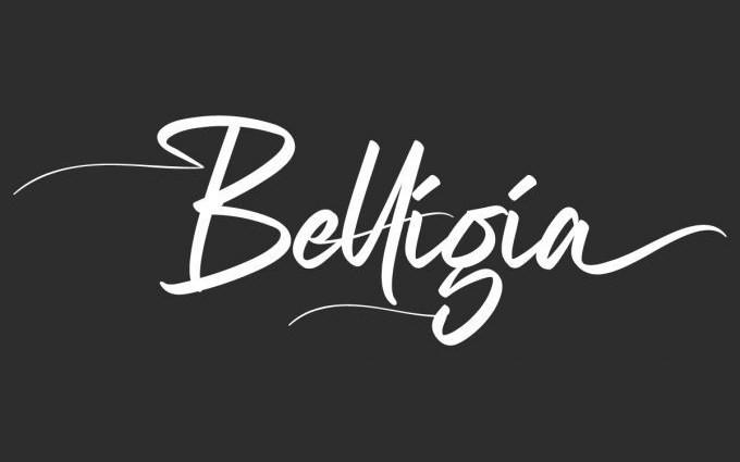 Belligia Script Font
