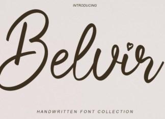 Belvir Script Font