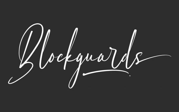 Blockguards Script Font