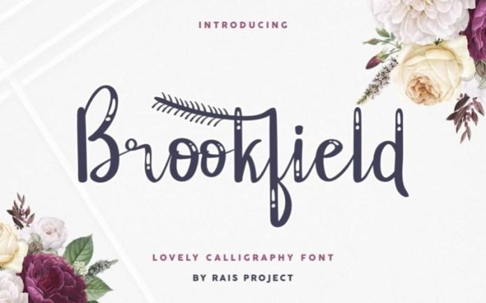 Brookfield Script Font
