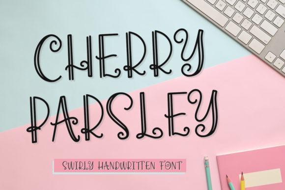 Cherry Parsley Display Font