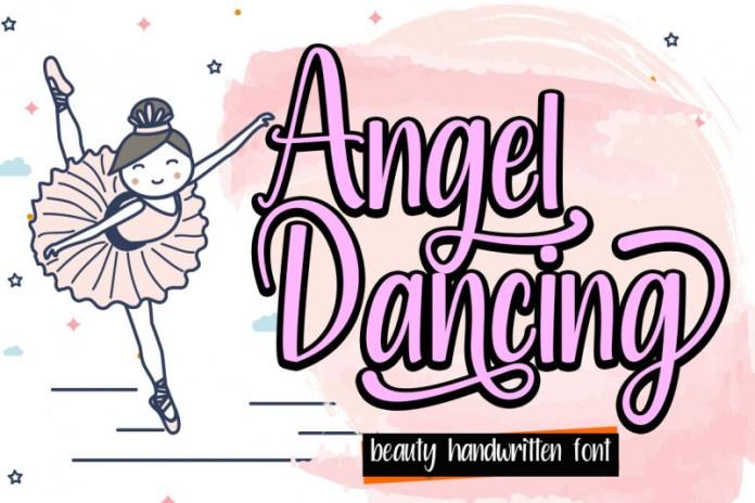 Angel Dancing Script Font