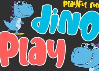 Dinoplay Display Font