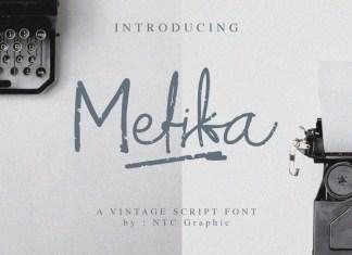 Mefika Script Font