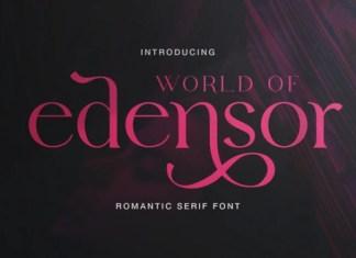 Edensor Serif Font