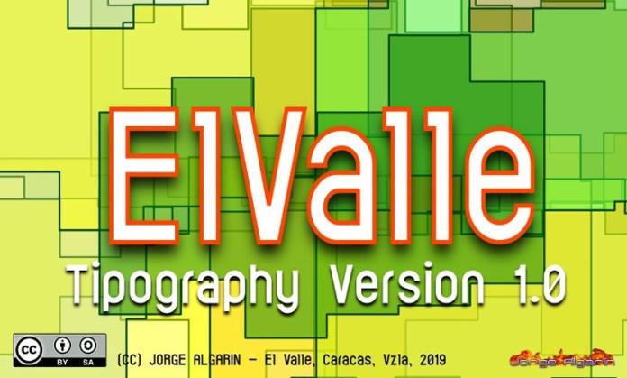 ElValle Sans Serif Font