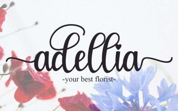 Glamour Calligraphy Font