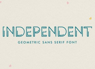 INDEPENDENT Display Font