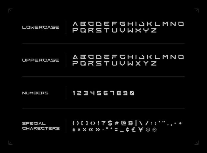 Enixe Display Font