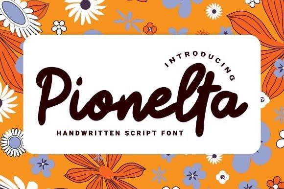 Pionelta Script Font