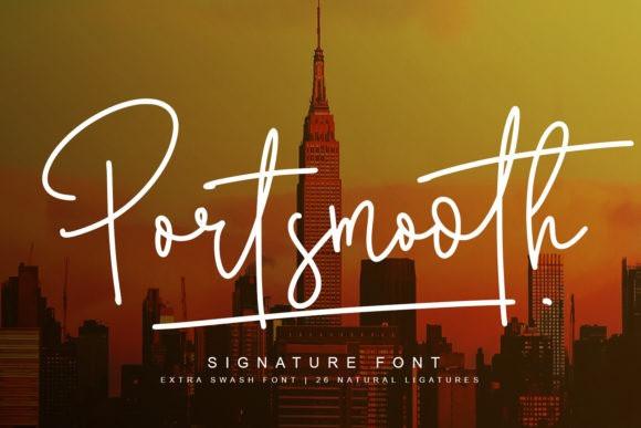 Portsmooth Handwritten Font