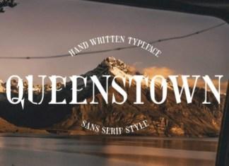 Queenstown Display Font