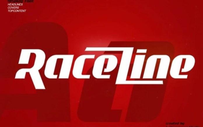 Raceline Display Font