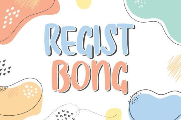Regist Bong Display Font