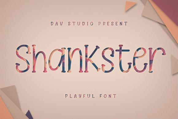 Shankster Display Font