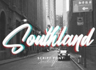 Southland Brush Font