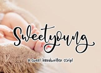 Sweetyoung Calligraphy Font
