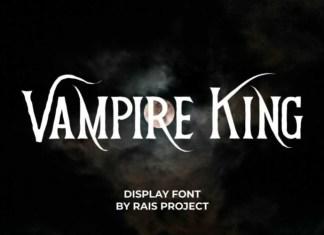 Vampire King Display Font