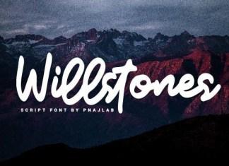 Willstones Script Font